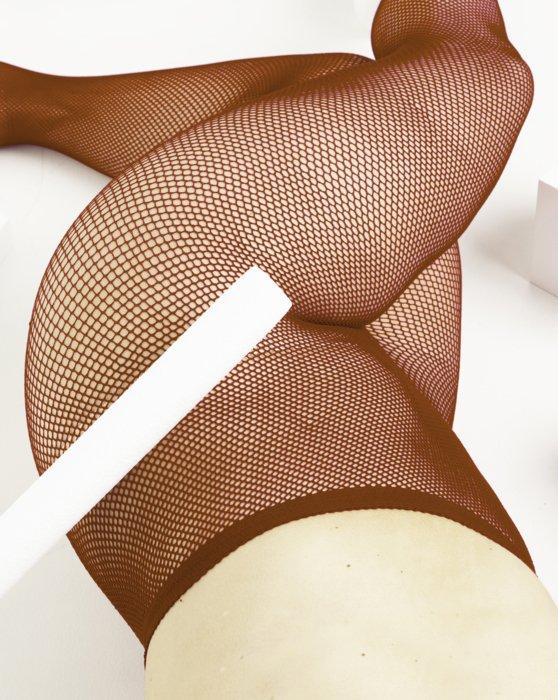 Rust Nylon/Lycra Fishnets Style# 1401   We Love Colors