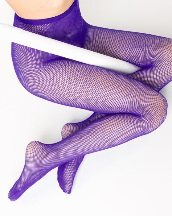 Violet Nylon/Lycra Fishnets Style# 1401   We Love Colors