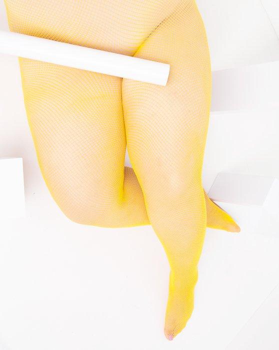Yellow Nylon/Lycra Fishnets Style# 1401 | We Love Colors