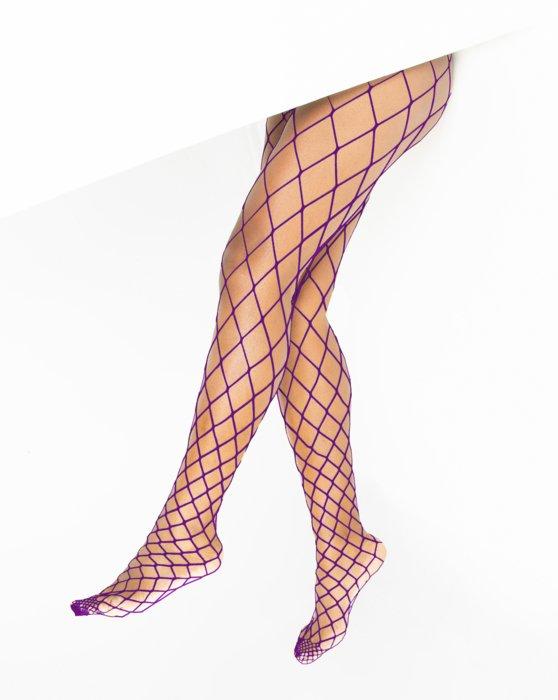 Amethyst Diamondnet Fishnet Style# 1405 | We Love Colors