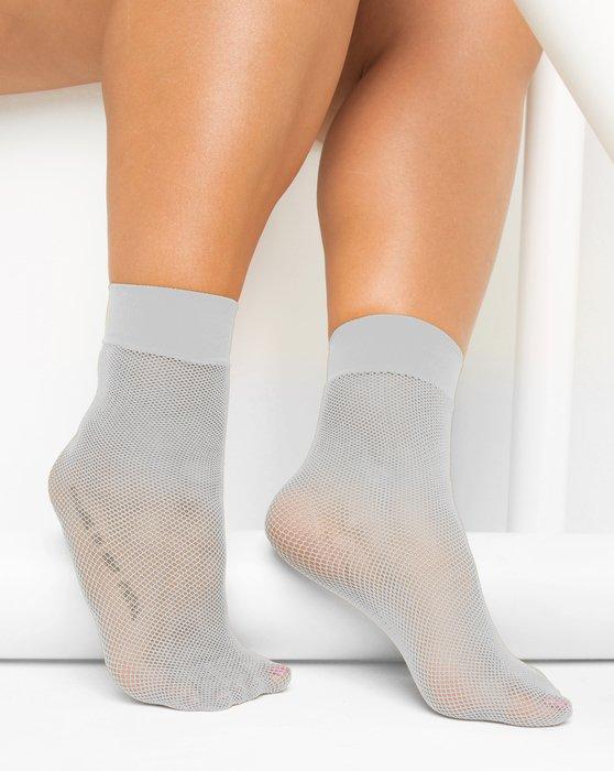 Light Grey Fishnet Anklet Style# 1429 | We Love Colors