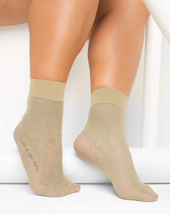 Light Tan Fishnet Anklet Style# 1429   We Love Colors