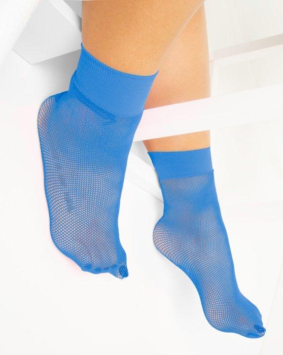 Medium Blue Fishnet Anklet Style# 1429 | We Love Colors