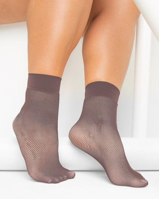 Mocha Fishnet Anklet Style# 1429   We Love Colors