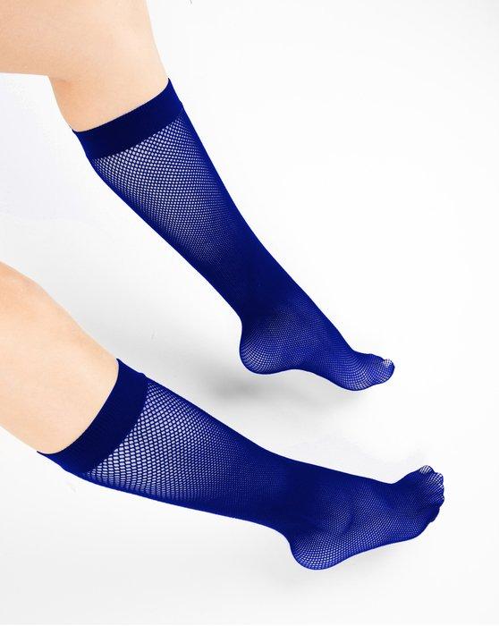 Navy Fishnet Knee Highs Style# 1431 | We Love Colors