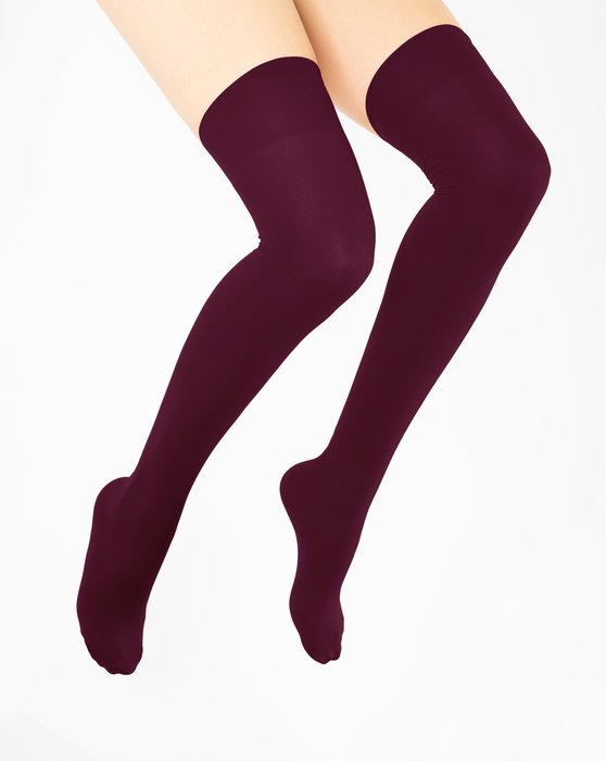 Maroon Thigh Highs Style# 1501 | We Love Colors