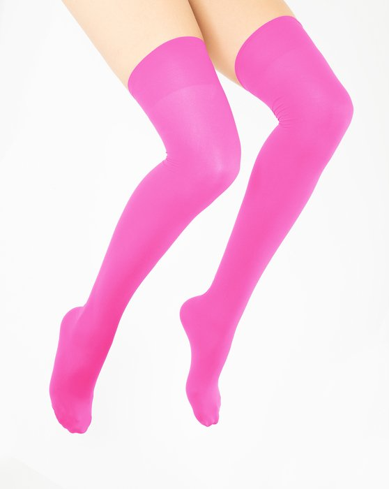 Neon Pink Thigh Highs Style# 1501 | We Love Colors