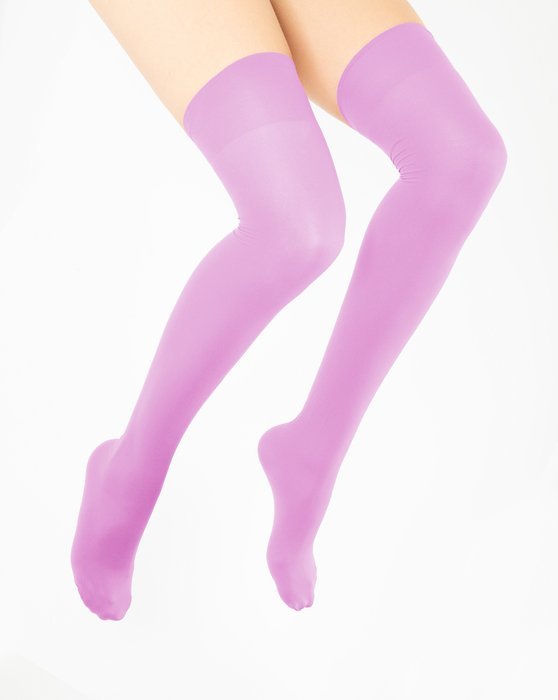 Orchid Pink Thigh Highs Style# 1501   We Love Colors