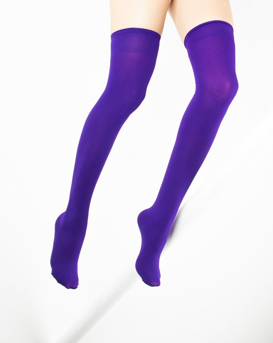 Violet Thigh Highs Style# 1501   We Love Colors