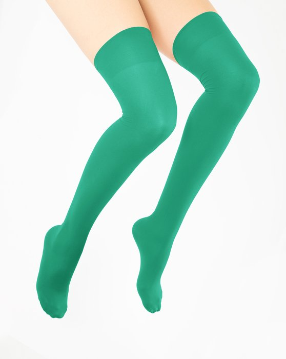 Emerald Thigh Highs Style# 1501   We Love Colors