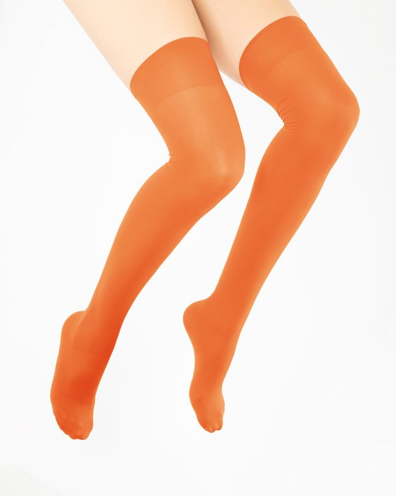 Orange Thigh Highs Style# 1501 | We Love Colors