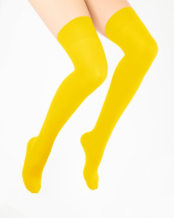 Yellow Thigh Highs Style# 1501 | We Love Colors