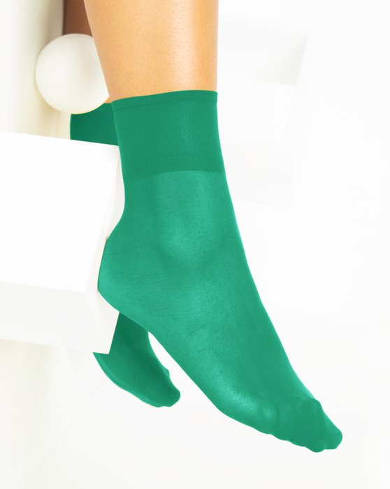 Emerald Sheer Anklet Style# 1528 | We Love Colors