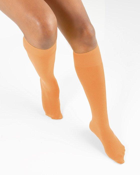 Light Orange Knee Highs Style# 1532   We Love Colors