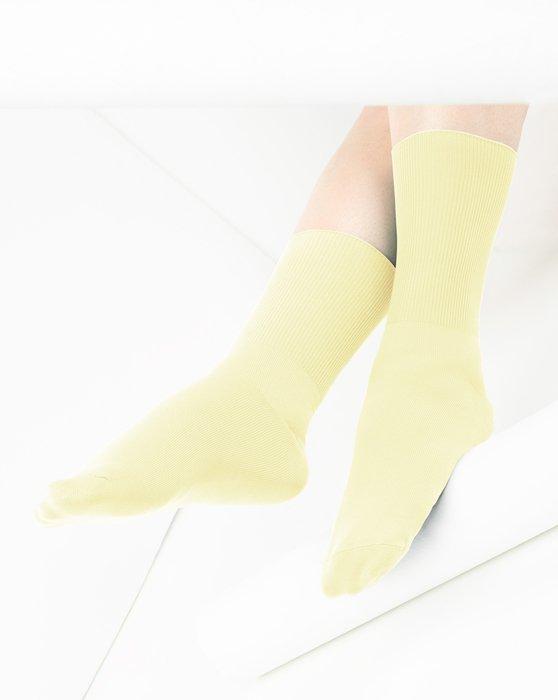 Maize Nylon Socks Style# 1551   We Love Colors
