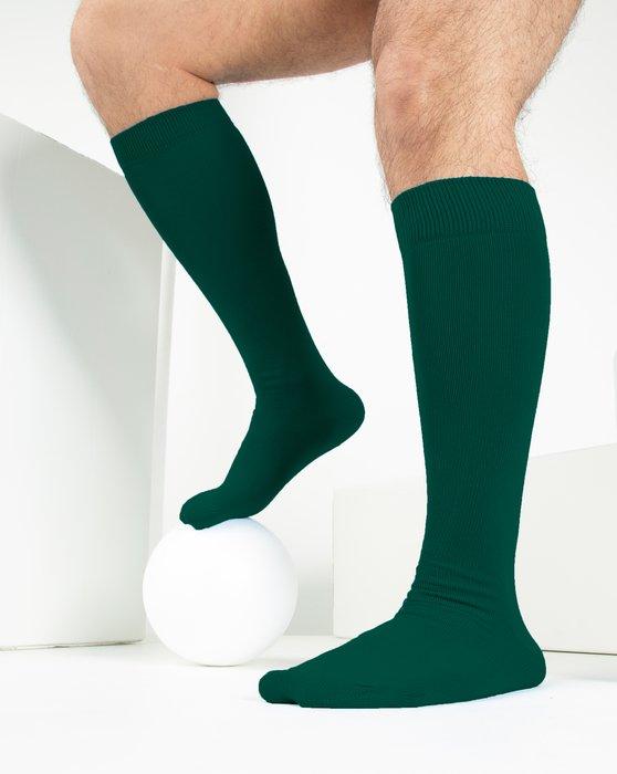 Hunter Green Sports Socks Style# 1559   We Love Colors
