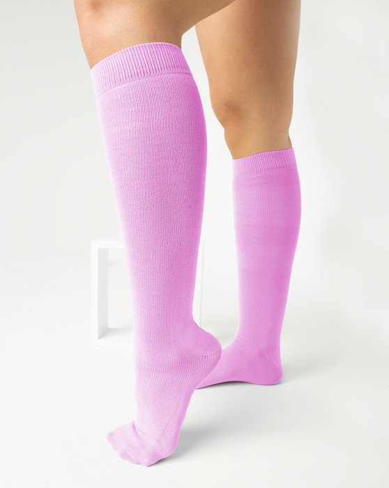 Orchid Pink Sports Socks Style# 1559   We Love Colors