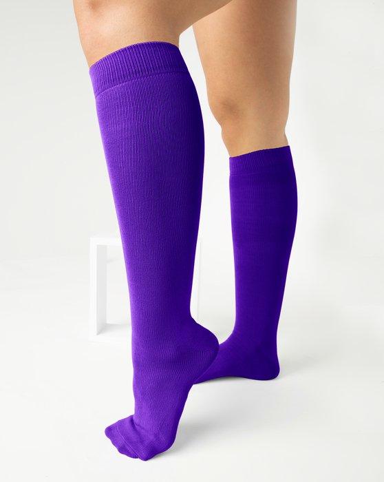 Violet Sports Socks Style# 1559 | We Love Colors