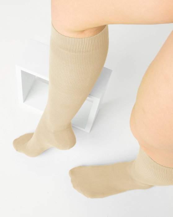 Light Tan Sports Socks Style# 1559   We Love Colors