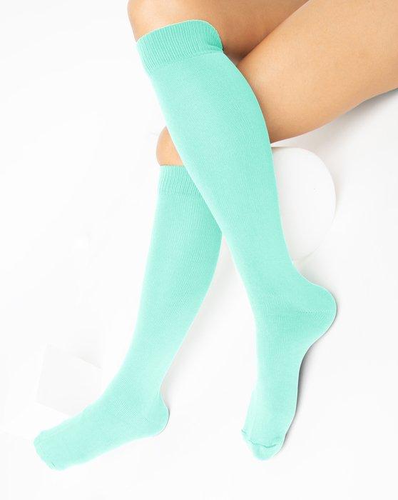 Pastel Mint Sports Socks Style# 1559   We Love Colors
