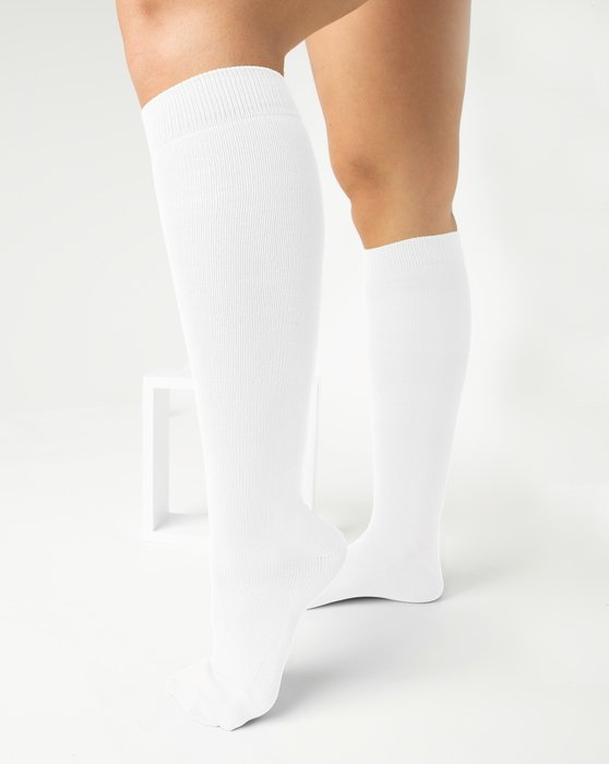 White Sports Socks Style# 1559   We Love Colors
