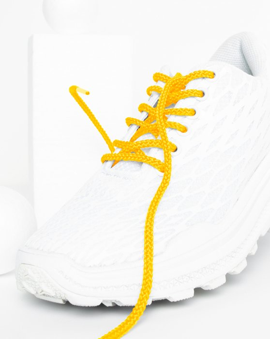 Gold Round Shoelaces Style# 3001 | We Love Colors
