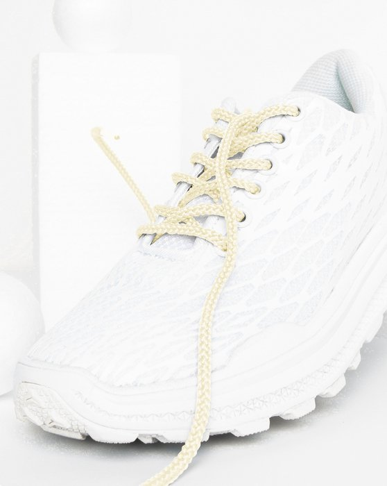Ivory Round Shoelaces Style# 3001 | We Love Colors