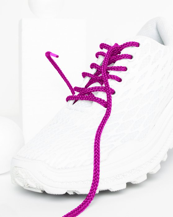 Magenta Round Shoelaces Style# 3001 | We Love Colors