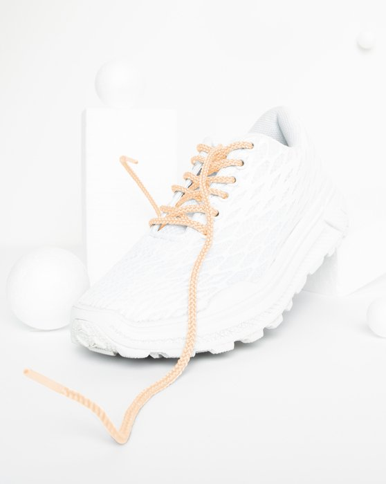 Peach Round Shoelaces Style# 3001 | We Love Colors