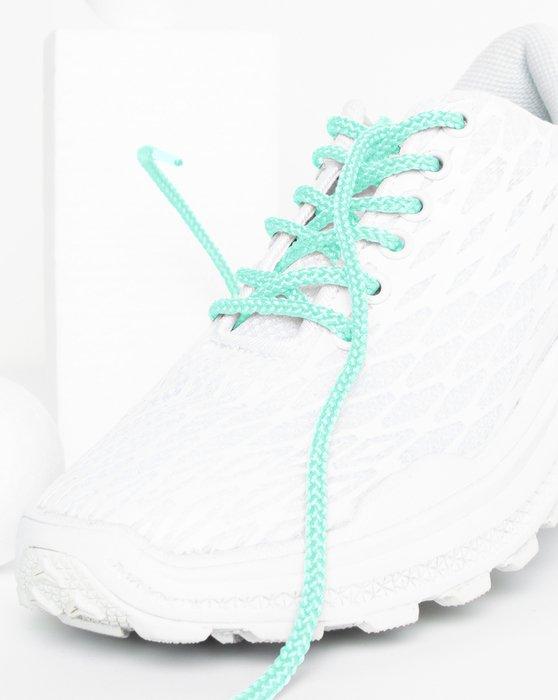 Pastel Mint Round Shoelaces Style# 3001 | We Love Colors