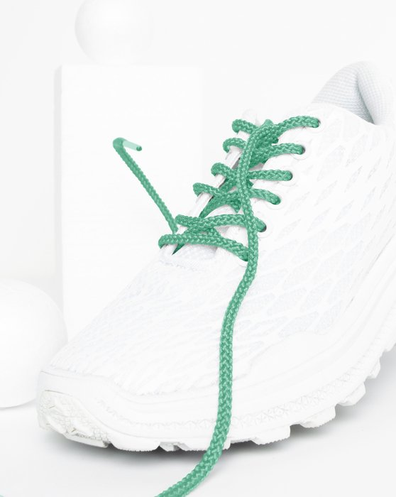 Scout Green Round Shoelaces Style# 3001   We Love Colors