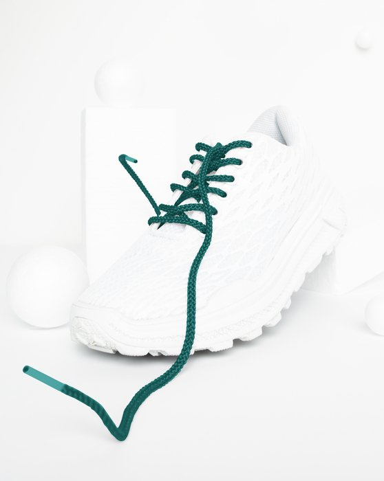Spruce Green Round Shoelaces Style# 3001 | We Love Colors