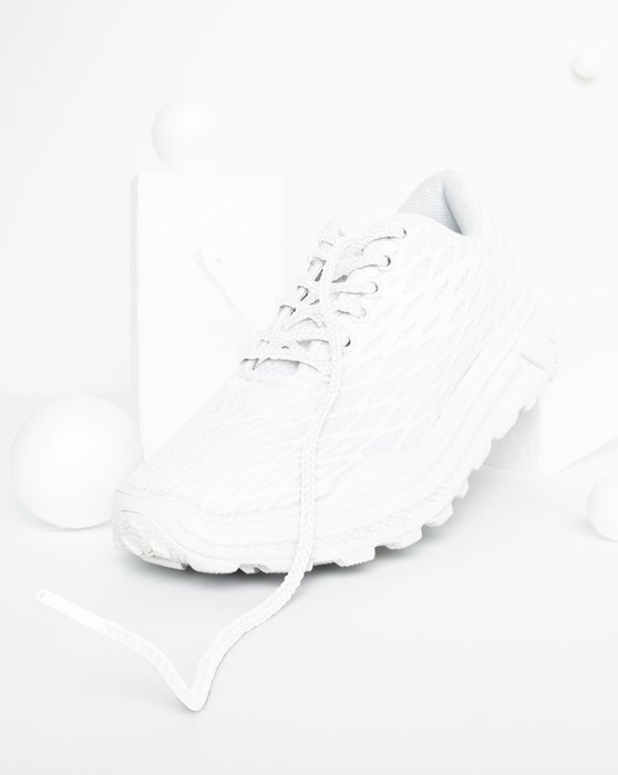 White Round Shoelaces Style# 3001 | We Love Colors