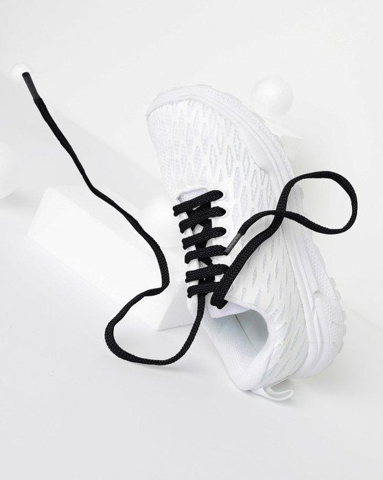 Black Flat Shoelaces Style# 3002 | We Love Colors