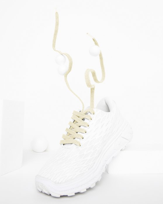 Ivory Flat Shoelaces Style# 3002 | We Love Colors