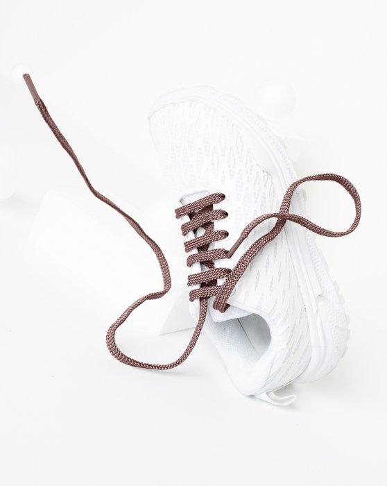 Mocha Flat Shoelaces Style# 3002 | We Love Colors