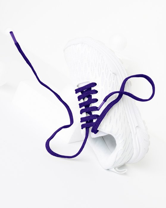 Purple Flat Shoelaces Style# 3002 | We Love Colors