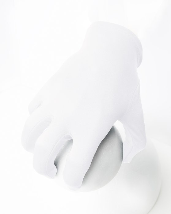 White Wrist Gloves Style# 3405 | We Love Colors