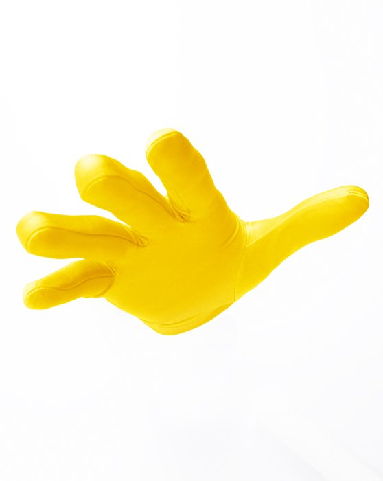 Yellow Wrist Gloves Style# 3405 | We Love Colors