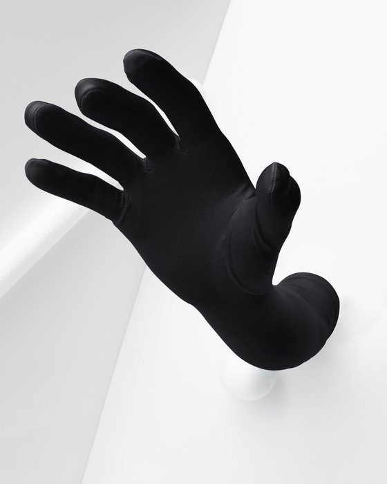 3407 Black Long Opera Gloves
