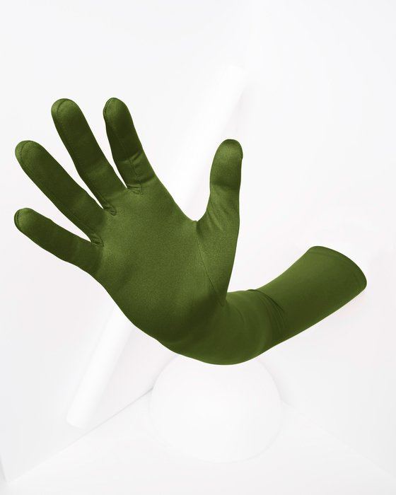 Olive Green Shoulder Gloves Style# 3407 | We Love Colors