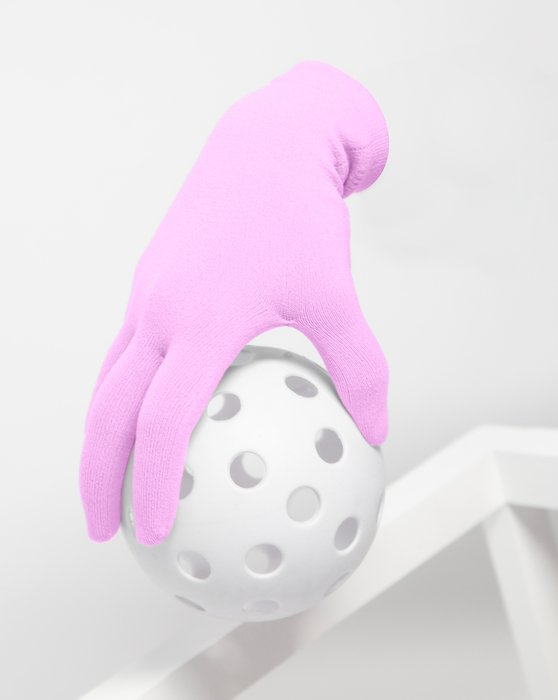 Orchid Pink Short Matte Seamless Gloves