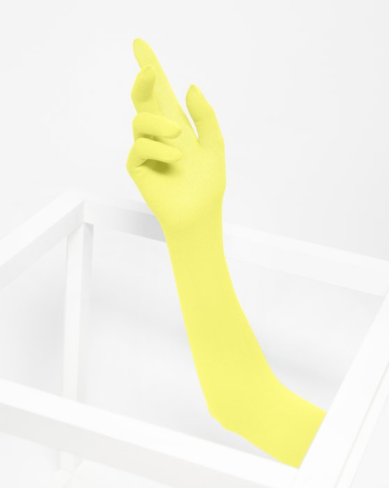 Maize Long Matte Seamless Gloves