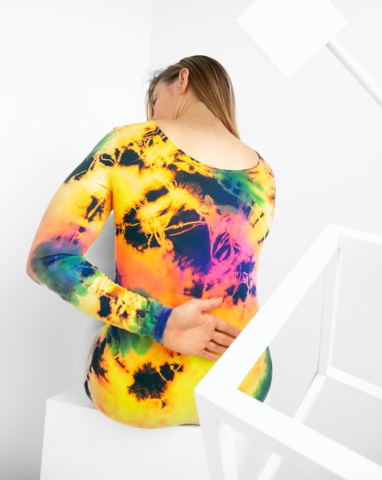 7411 Long Sleeve Scoop Neck Leotard Style# 5002 | We Love Colors