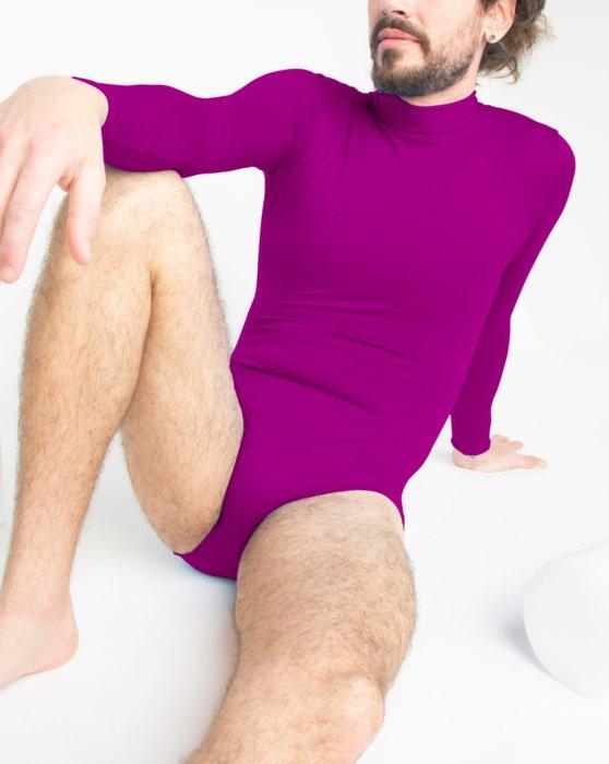 Long Sleeve Mock Turtleneck Leotard Style# 5008 | We Love Colors