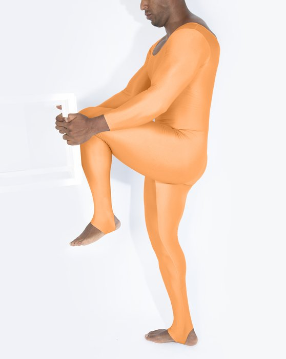 Light Orange Long Sleeve Unitard Style# 5009   We Love Colors