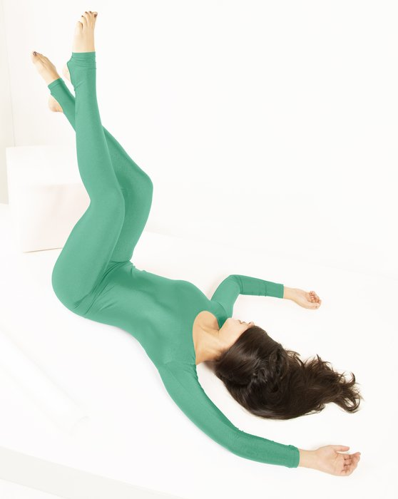 Scout Green Long Sleeve Unitard Style# 5009 | We Love Colors