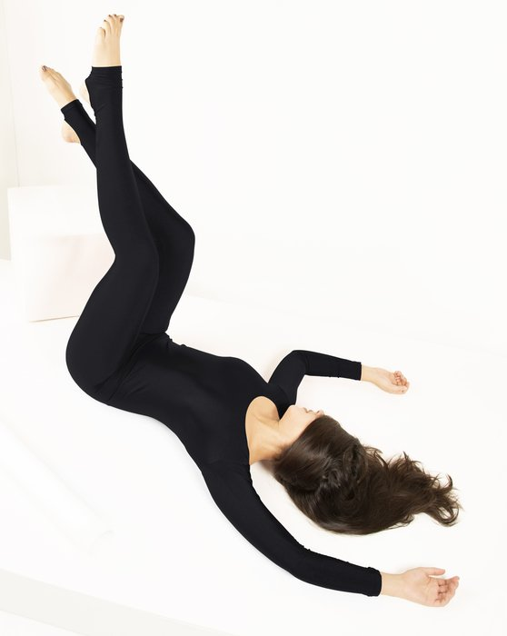 5009 W Black Dance Unitard