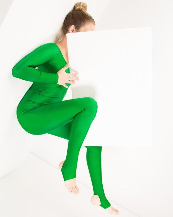 Kelly Green Long Sleeve Unitard Style# 5009 | We Love Colors