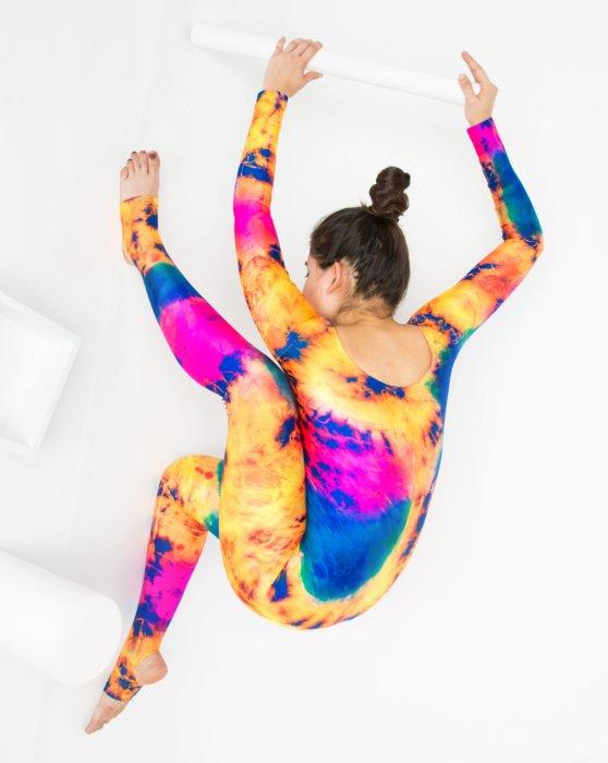 7411 Long Sleeve Unitard Style# 5009   We Love Colors